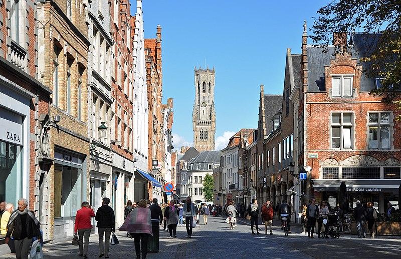 Melhores regiões de Bruges para ficar