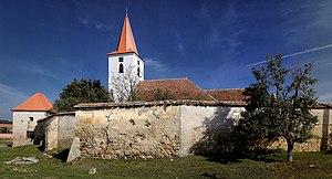 Bruiu - Image: Bruiu Ansamblul bisericii evanghelice fortificate
