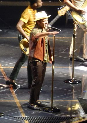 Moonshine Jungle Tour - Bruno Mars performing at Madison Square Garden
