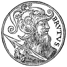 Brutus, the mythological founder of London