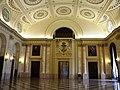Bucuresti, Romania, Palatul Regal (Muzeul National de Arta al Romaniei - Pavilionul Sala Tronului - Sala Tronului - interior 2 ); B-II-m-A-19856.JPG