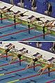 Budapest2017 fina world championships - 50breaststroke semifinal 1 - start.jpg