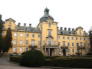 Principality of Schaumburg-Lippe - Bückeburg Castle, former residence of the ruling princes, still owned by the princely family