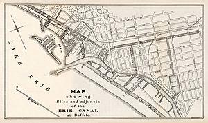 Canalside - Buffalo Canal Zone, 1905