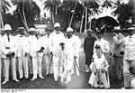 Bernhard Dernburg en visite officielle à Zanzibar en 1907