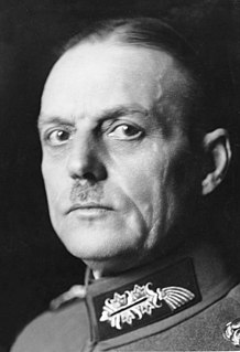 Gerd von Rundstedt German Field Marshal during World War II