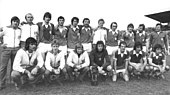 Bundesarchiv Bild 183-T0429-0021, FDGB-Pokal, Endspiel 1. FC Magdeburg - Dynamo Dresden, Mannschaftsfoto