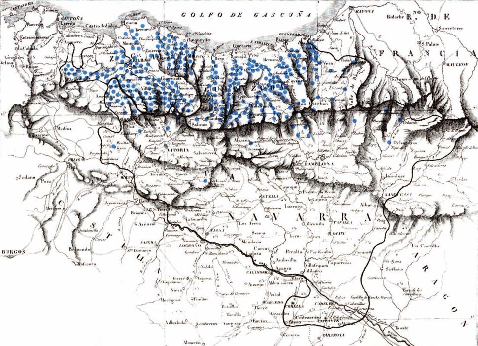 Burdinola mapa euskal herria 01