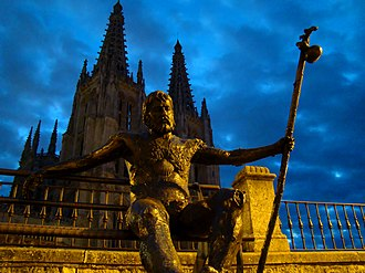 Camino de Santiago - Monument of the pilgrims, Burgos