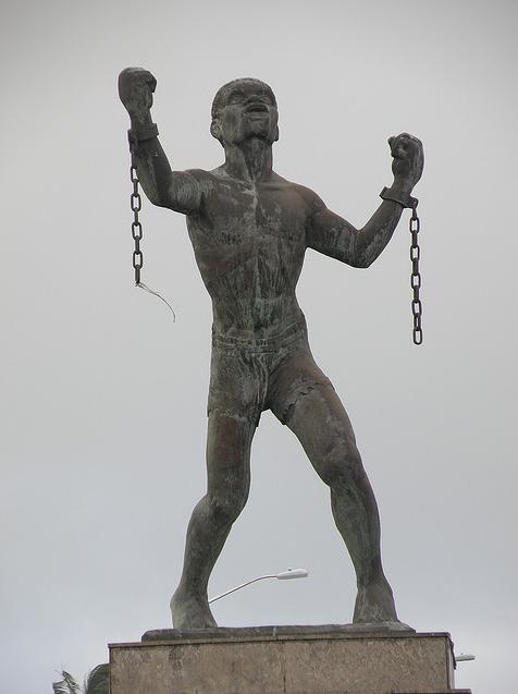 Bussa statue