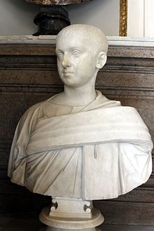 Bust of young Alexander Severus - Palazzo Nuovo - Musei Capitolini - Rome 2016.jpg