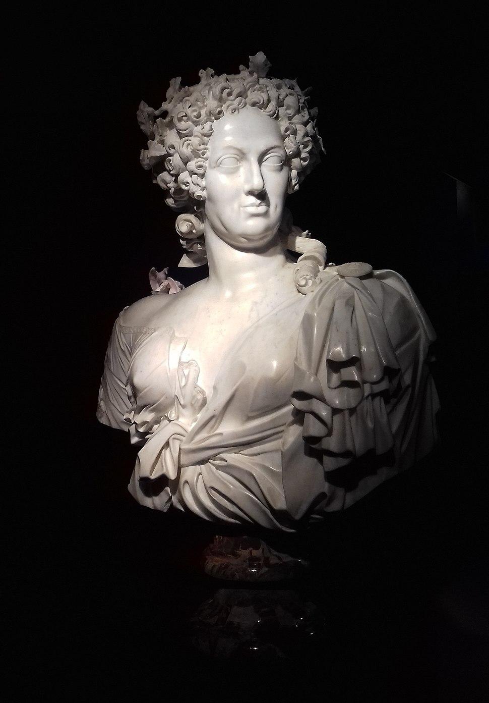 Busto-ritratto di Cristina di Svezia - Cartari