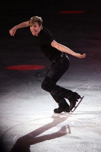 Jeffrey Buttle - Buttle performs his exhibition Personal Jesus at the 2008 Canadian Stars on Ice in Halifax.