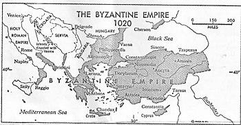 The Byzantine Empire 1020