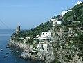 Côte Amalfitaine, Praiano, la tour sarrasine.jpg