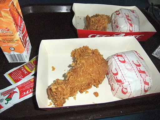 CFC fried chicken Bandung