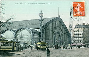 Exposition Universelle (1889) - Image: CLC 528 PARIS Galerie des Machines