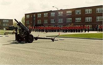 Fort Saint-Jean (Quebec) - Image: CMR gun
