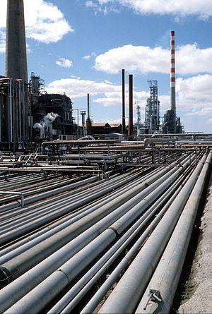 Corio, Victoria - The refinery