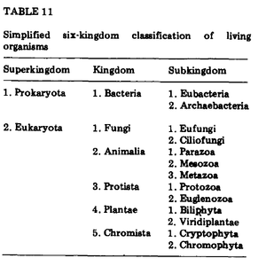Thomas Cavalier-Smith - Table 11 From Eukaryote kingdoms: seven or nine?