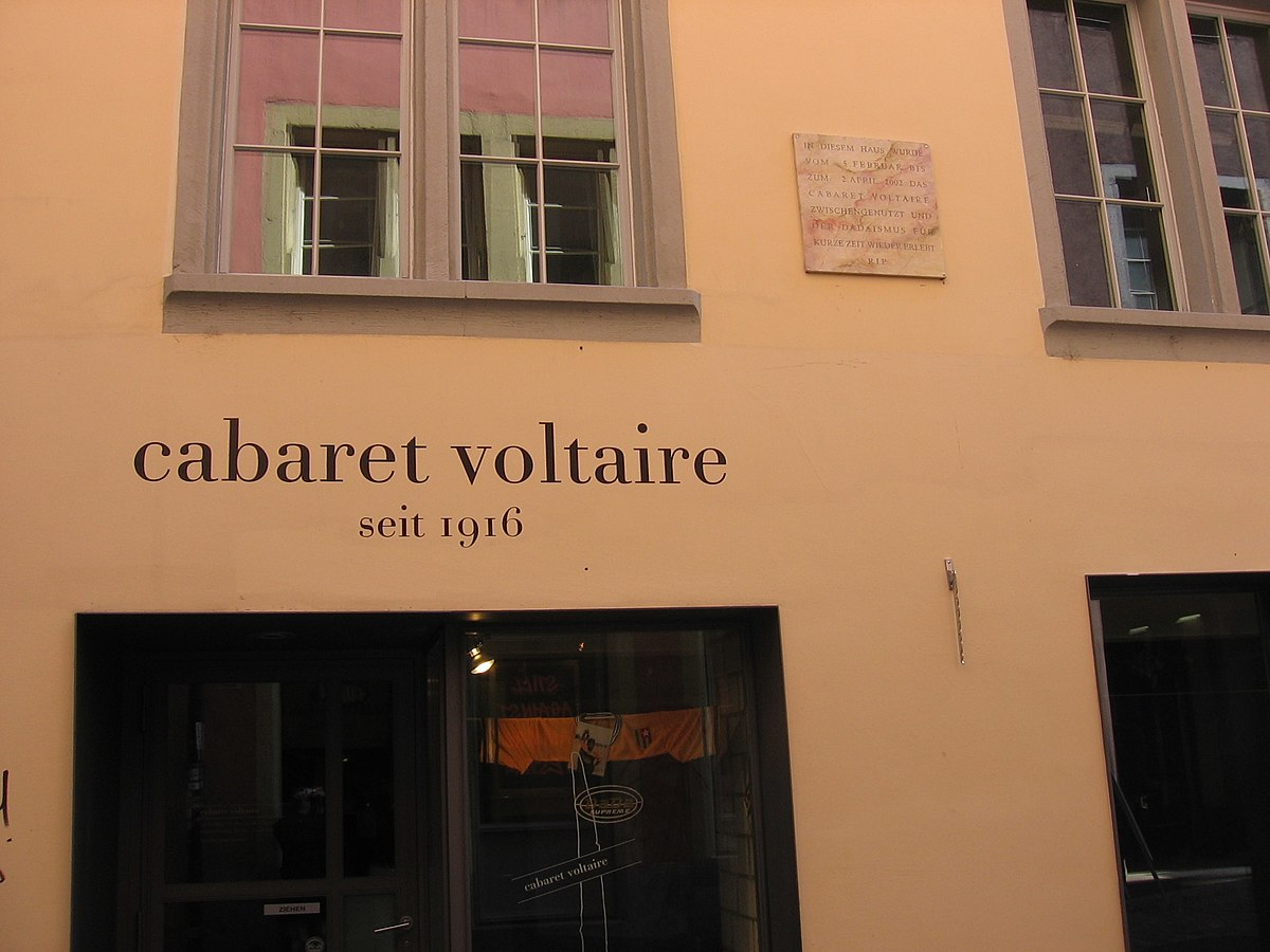 Cabaret Voltaire — Wikipédia