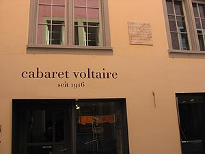 Switzerland during the World Wars - Cabaret Voltaire in Zürich, as it appeared in 2006