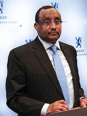 Abdiweli Mohamed Ali - Image: Cabdiweli Maxamed Cali