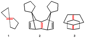 Pyramidal alkene - Figure 1. Pyramidal alkenes