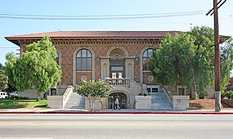East Hollywood, Los Angeles - Cahuenga Branch, Los Angeles Public Library