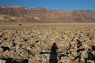 salt pan in Death Valley National Park, California, United States