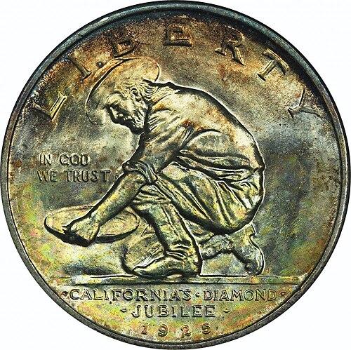 California Diamond Jubilee half dollar