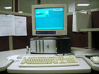 Call centre - Image: Call centre desk lakeland florida