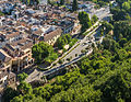 Calle Chirimias, from Alhambra, Granada, Andalusia, Spain.jpg