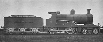 "Cambrian Railways - The ""latest Cambrian Passenger Express Locomotive"", circa 1921"