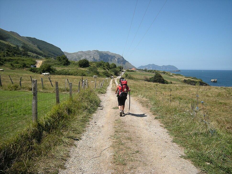 Camino del Norte entre Cerdigo e Islares