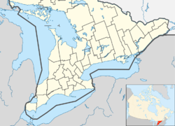 Niagara-on-the-Lake is located in Southern Ontario