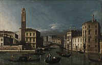 Canaletto (Giovanni Antonio Canal) - Grand Canal, San Geremia and the Entrance to the Cannaregio - BF831 - Barnes Foundation.jpg