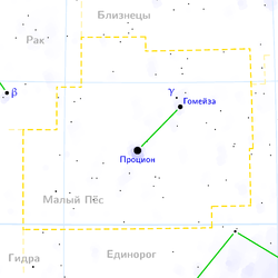 Canis minor constellation map ru lite.png