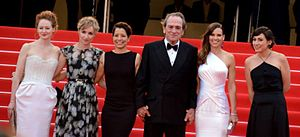 The Homesman - Director and cast at the 2014 Cannes Film Festival