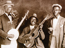 Gus Cannon's Jug Stompers, c. 1928 (Cannon is on the left)