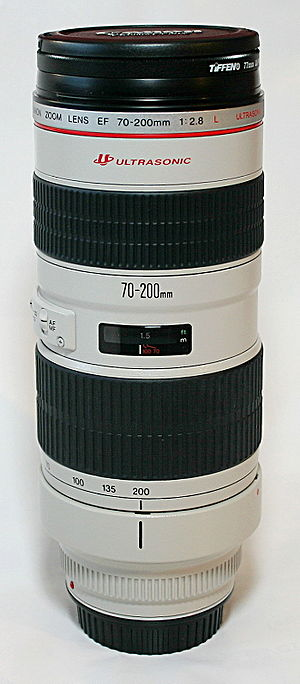 Canon EF 70–200mm lens - Image: Canon EF 70 200mm
