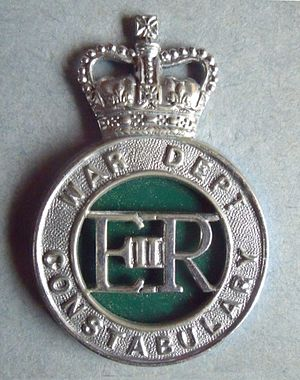 Army Department Constabulary - Cap badge of War Department Constabulary