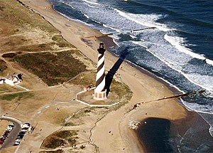Cape Hatteras National Seashore Cape Hatteras lighthouse North Carolina.jpg
