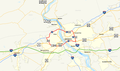 Capital Beltway Harrisburg map.png
