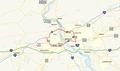 Capital Beltway Harrisburg map.png