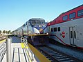 Capitol Corridor and Caltrain at San Jose Diridon station, September 2008.jpg