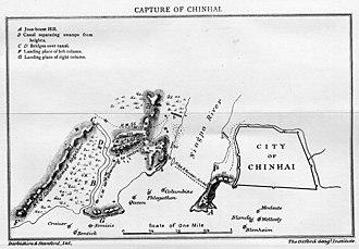 Battle of Chinhai - Image: Capture of Chinhai