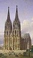 Carl Hasenpflug, Idealansicht des Kölner Doms (cropped).jpg