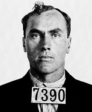 "Carl Panzram - Carl Panzram under the alias ""Jefferson Baldwin"" in 1915"