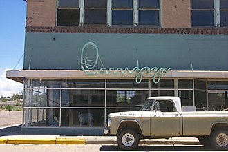 Carrizozo, New Mexico - Downtown Carrizozo